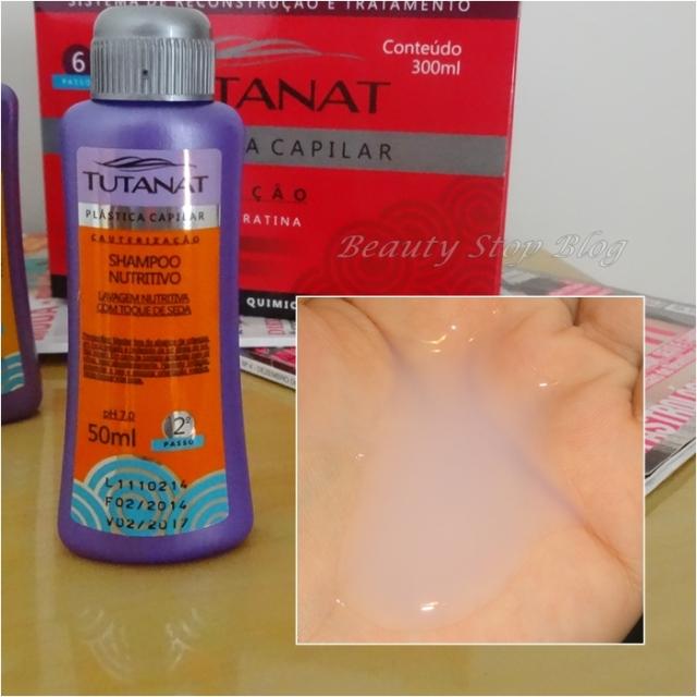 resenha review sistema de reconstrução e tratamento plástica capilar tutanat beauty stop blog bruna reis produtos shampoo