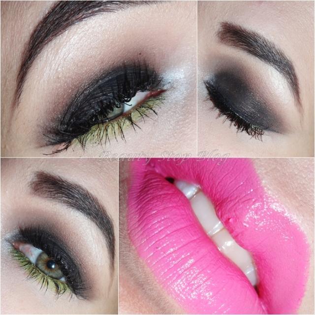 tutorial maquiagem smokey eye marrom nars com toque de verde limão beauty stop blog bruna reis
