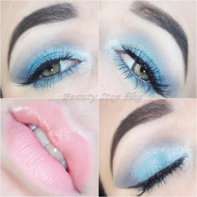 tutorial maquiagem verde e azul sereia natura aquarela beauty stop blog bruna reis
