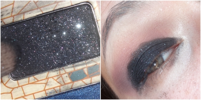 tutorial preto com brilho azul black eye blue glitter beauty stop blog bruna reis brunareisbeauty 4