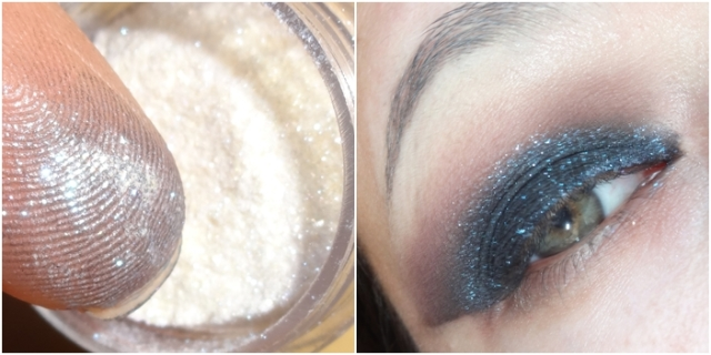 tutorial preto com brilho azul black eye blue glitter beauty stop blog bruna reis brunareisbeauty 6